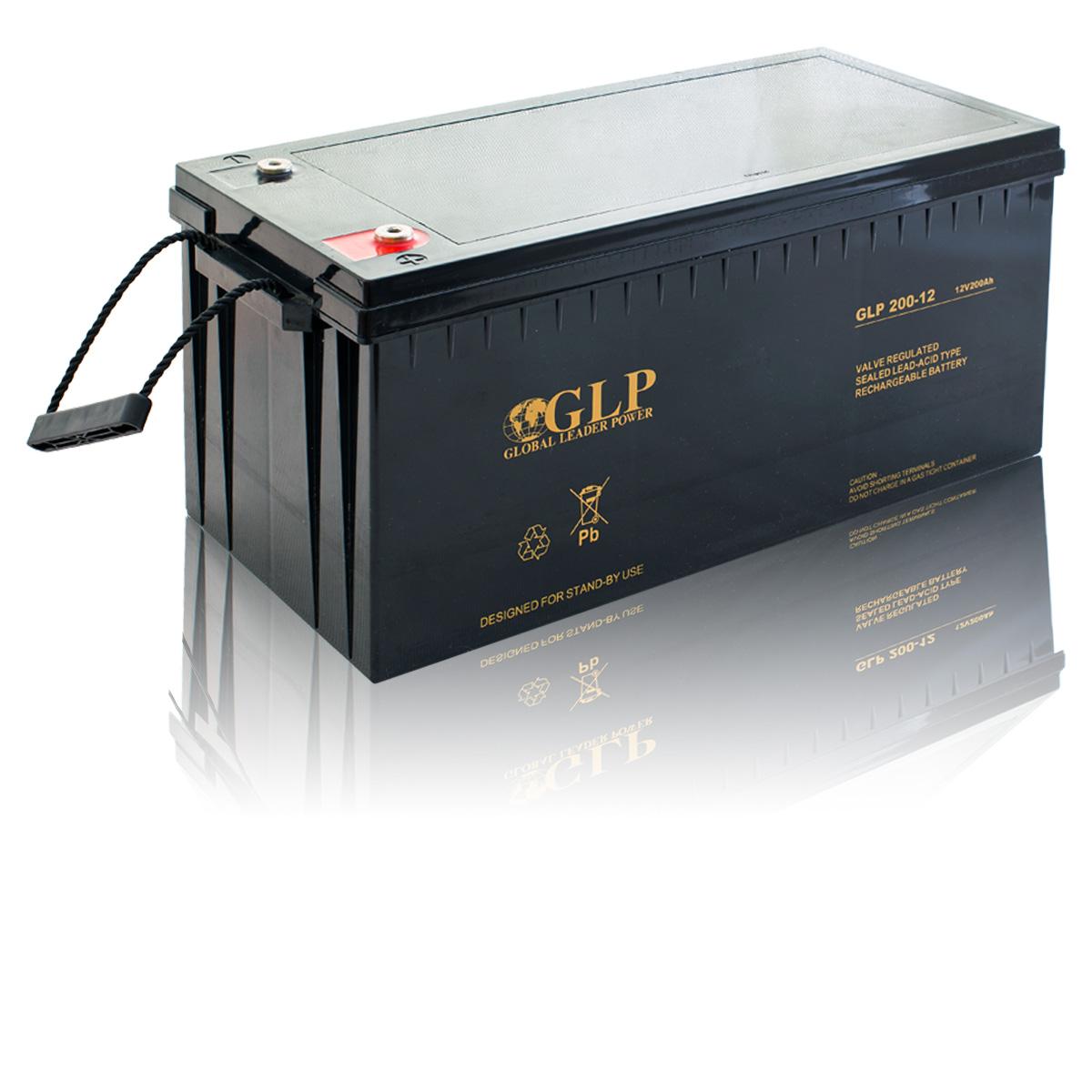 Bezúdržbový olověný záložní akumulátor - baterie VRLA - AGM 200A