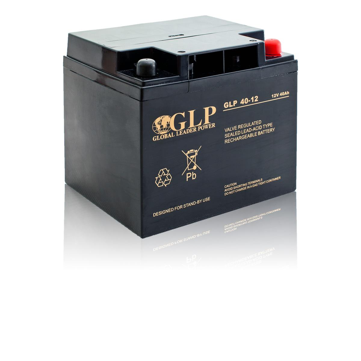 Bezúdržbový olověný záložní akumulátor - baterie VRLA - AGM 40Ah