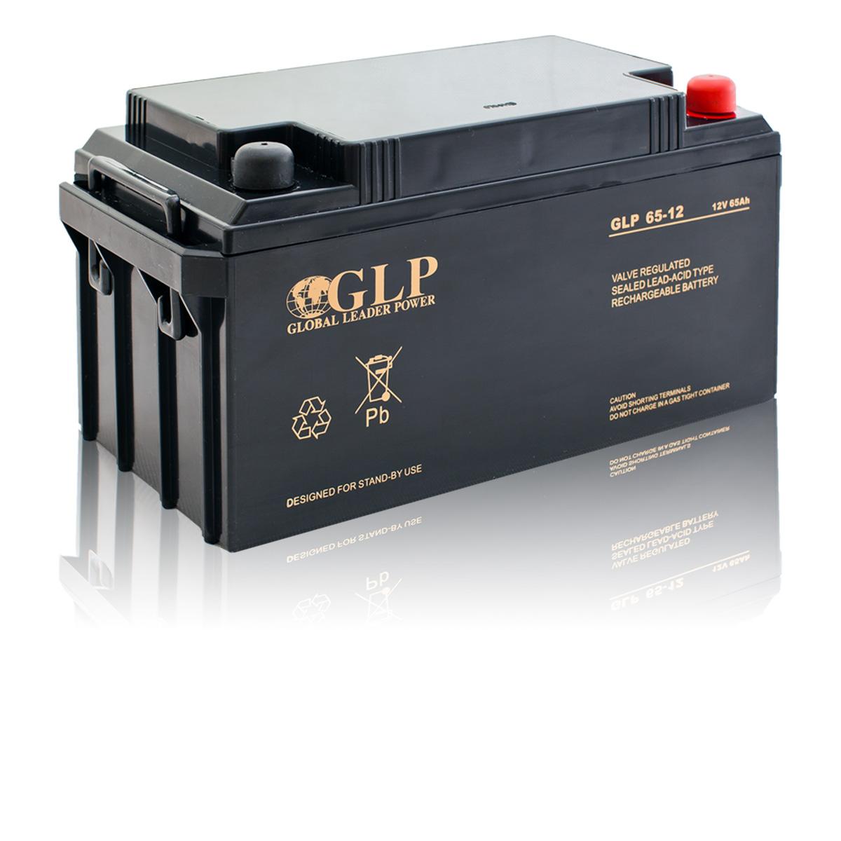 Bezúdržbový olověný záložní akumulátor - baterie VRLA - AGM 65Ah